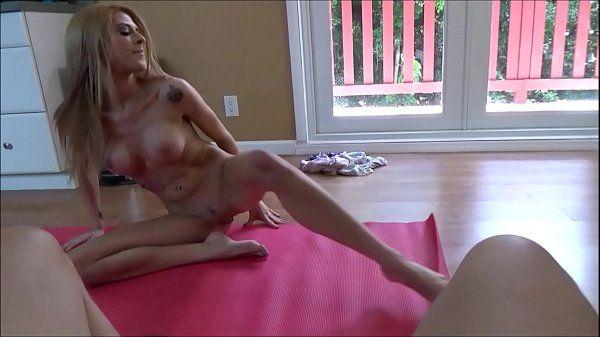 Porn yoga mom Step Mom